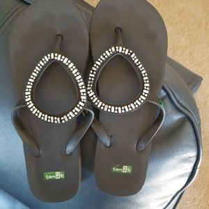 Flip Flops with bling.